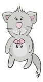 Cute gray cat Stock Photography