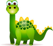 Cute green dinosaurs Royalty Free Stock Photography