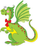 Cute green dragon Royalty Free Stock Photo