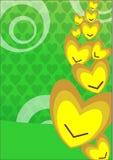 Cute greeting card Royalty Free Stock Image