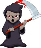 Cute Grim Reaper Cartoon Stock Photos