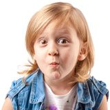 Cute grimace Royalty Free Stock Images