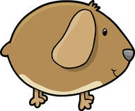Cute Guinea Pig Vector Stock Photography