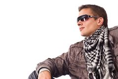 Cute guy portrait Royalty Free Stock Images