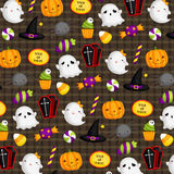 Cute Halloween Background Royalty Free Stock Photos