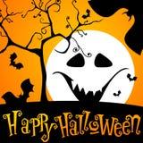 Cute Halloween illustration Stock Photos