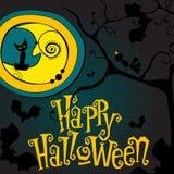 Cute Halloween illustration Stock Photo