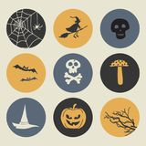 Cute Halloween Print Design Royalty Free Stock Image