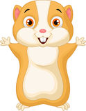 Cute hamster cartoon Stock Photos