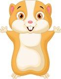 Cute hamster cartoon Stock Photos