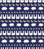 Cute Scandinavian seamless pattern royalty free illustration