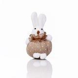 Cute hand made rabbit Stock Photos