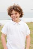 Cute handsome boy enjoys posing Stock Photography