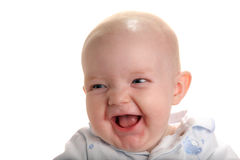 Cute happy baby Stock Images