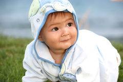 Cute happy baby boy Stock Photography