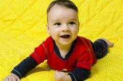 Cute happy baby boy. Stock Photography