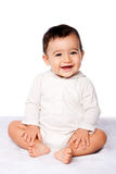 Cute happy baby sitting Royalty Free Stock Photography