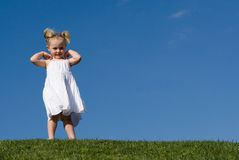 Cute happy child Royalty Free Stock Photography