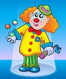 Cute happy clown Royalty Free Stock Image