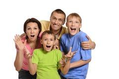 Cute happy family Royalty Free Stock Photo
