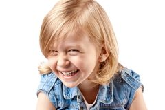 Cute happy girl Stock Photo