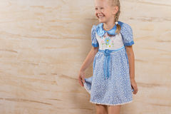 Cute happy laughing little girl Royalty Free Stock Photos