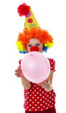 A cute happy little clown Royalty Free Stock Images