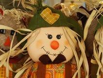 Cute happy scarecrow Stock Image