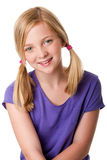 Cute Happy Teenager Girl Stock Image