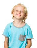 Cute happy young boy royalty free stock images