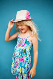 Cute happy young girl Stock Photography