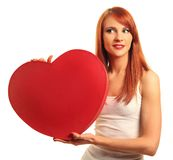 Cute heart Royalty Free Stock Image