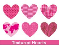 Cute hearts Royalty Free Stock Photo