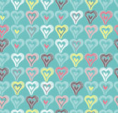 Cute hearts Stock Photo