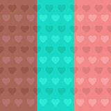 Cute hearts background Royalty Free Stock Photography
