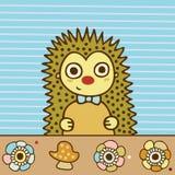Cute Hedgehog Stock Photos