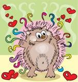 Cute hedgehog Stock Photo