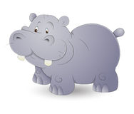 Cute Hippo Stock Photography