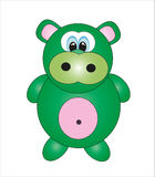 Cute hippo.  Royalty Free Stock Photography