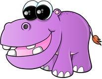 Cute hippopotamus Vector Stock Photos