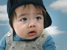 Cute Hispanic baby boy Royalty Free Stock Photos