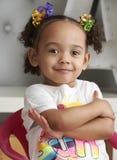 Smiling Toddler Stock Photo