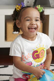 Laughing Toddler Stock Images