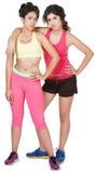 Cute Hispanic Workout Girls Royalty Free Stock Images