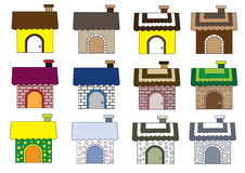 Cute home styles Royalty Free Stock Image