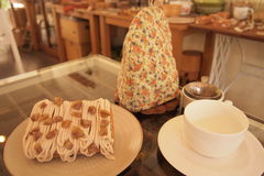 Cute Homemade Japanese Style Afternoon Tea Set Royalty Free Stock Photo