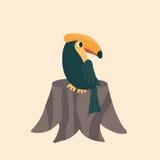 Cute hornbill . Stock Photo