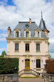 Cute house in Switzerland Royalty Free Stock Photos