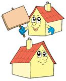 Cute houses Stock Photos