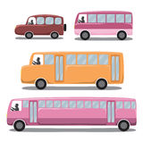 Cute Icons Set : Car Stock Image